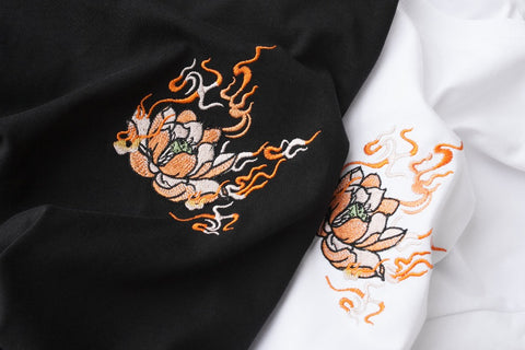 Raging Beast Embroidery Tee
