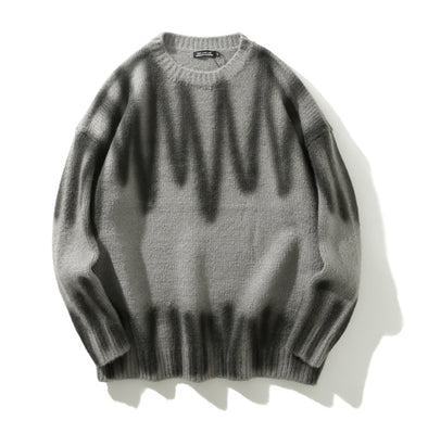 Spray Paint Sweater