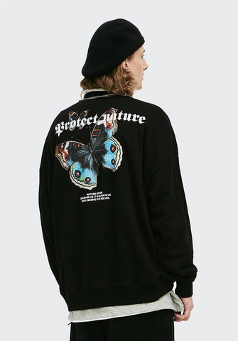Protéger la nature Crewneck - Dominated Inc
