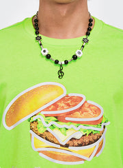 Hamburger Tee - Dominated Inc