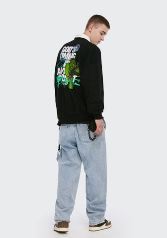 Cactus Warrior Sweater - Dominated Inc