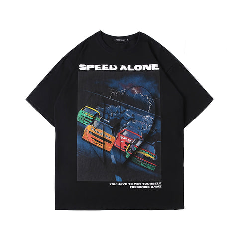 Speed Alone Tee - Dominated Inc