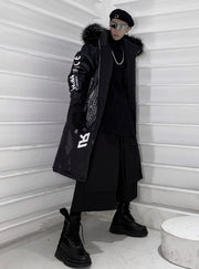 Galaxy CXU Black Winter Parka Jacket