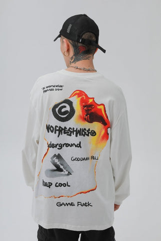 Underground Uprising Long Sleeves Tee