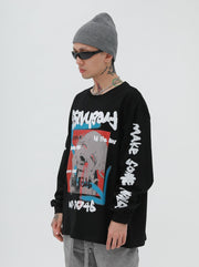 Crying Ghost Freshness Long Sleeves Tee