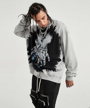 Underworld Splash Paint Crewneck