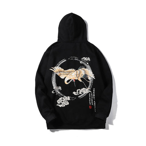 Shadow Movement Crane Hoodie