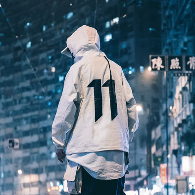 11 Tech Urban Windbreaker Jacke