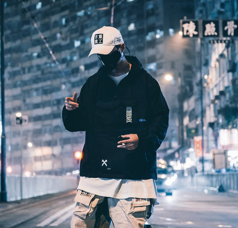 11 Tech Urban Windbreaker Jacket