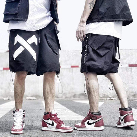 X Stamp Shorts