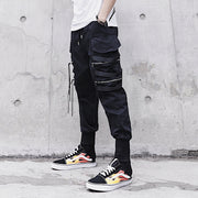 Niepce Casual Black Jogger Pants