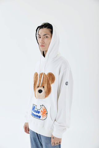 Bear Made Extreme Embroidery Hoodie