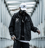Shadow Warrior Black Windbreaker