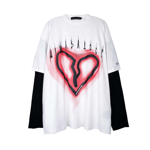 Broken Heart Long Sleeves Tee - FGRL