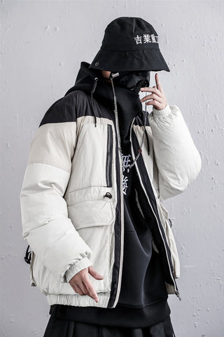 Double Color Heavy Industries Parka Jacket