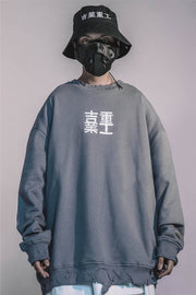 Heavy Urban Industries Ripped Crewneck