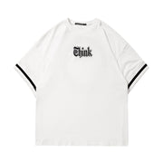 Think Renovation Jersey Tee - Dominated Inc