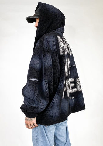 Are We Free Fur Hoodie - FGRL