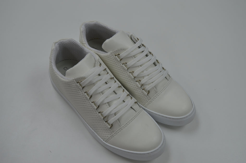 BKN Sneakers in White Leather