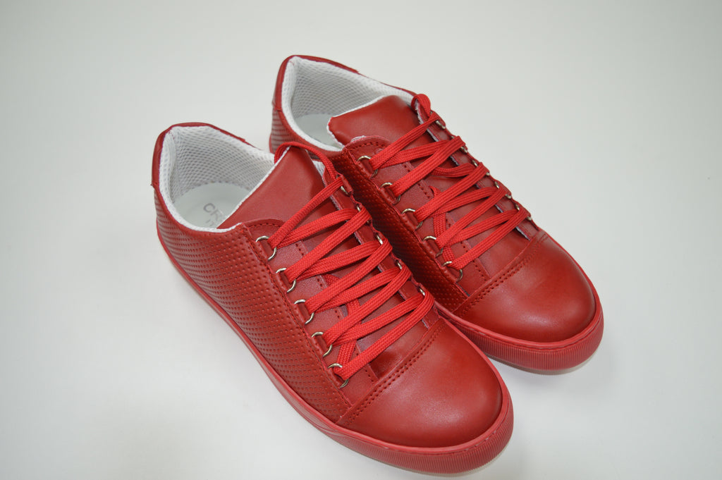 BKN Sneakers in Dark Red Leather