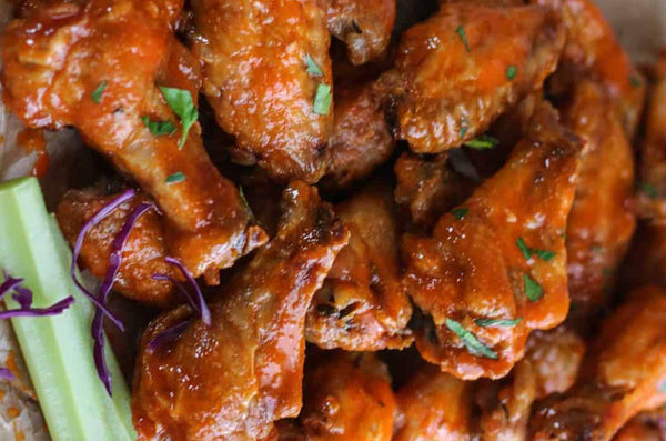 Classic Buffalo Chicken Barbecue Wings