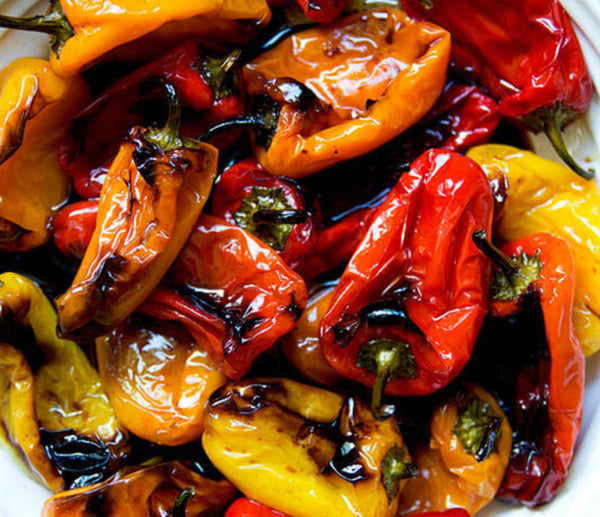 Sweet Pepper Stir Fry, Right On The Arteflame Grill