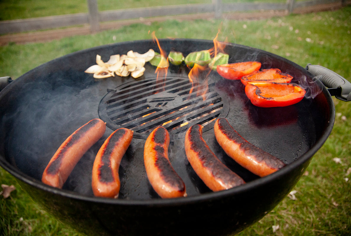 Arteflame grill - Weber kettle grill griddle inserts