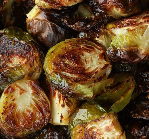 Brussels Sprouts on the Grill