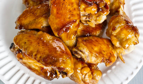 Spicy Beer Glazed Chicken Wings
