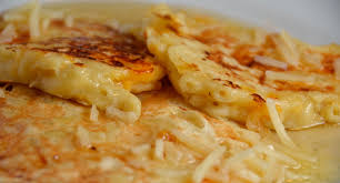 Mac and Cheese Pancake on the Grill