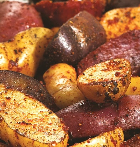 Crispy Potatoes on the Grill