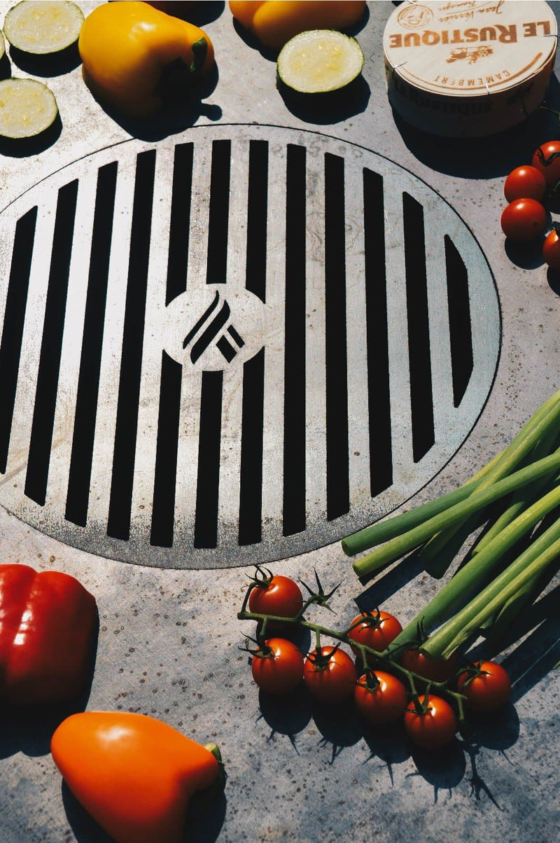 Arteflame Grill Grates - Arteflame Outdoor Charcoal Grill Griddle Combination.