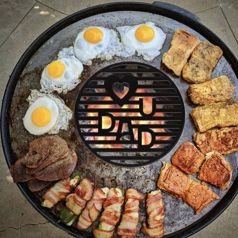Custom Grill Grate for your Arteflame - Arteflame Outdoor Charcoal Grill Griddle Combination.