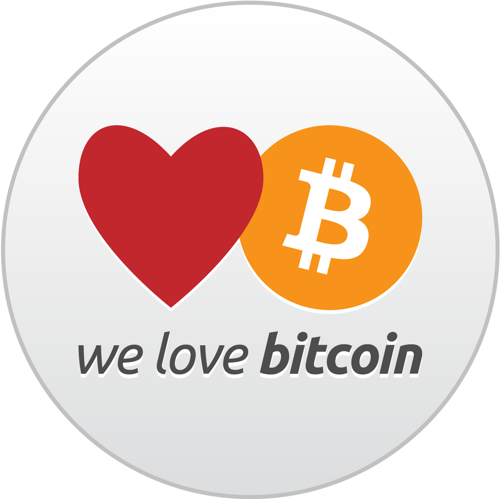We love Bitcoin