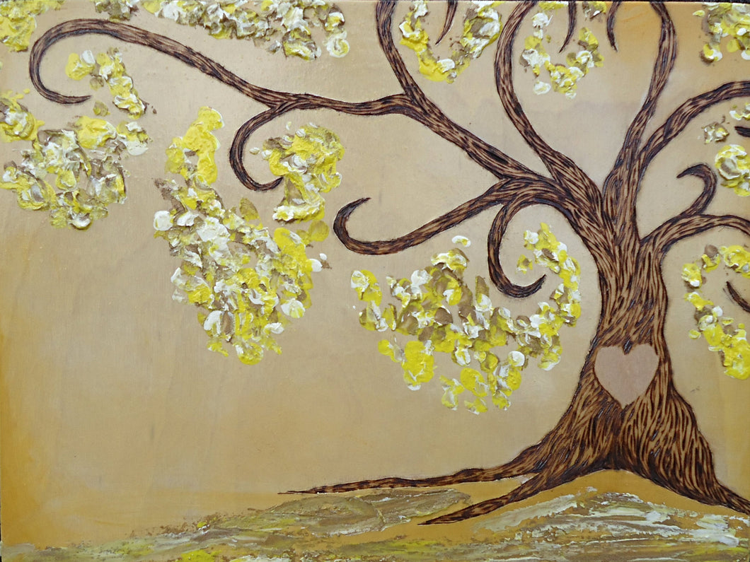 Simply Sweet Family Tree- Golden Yellow