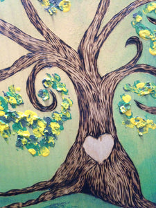 Simply Sweet Family Tree- John Deer Green