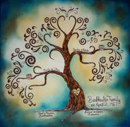 Traditional Family Tree- Made to Order