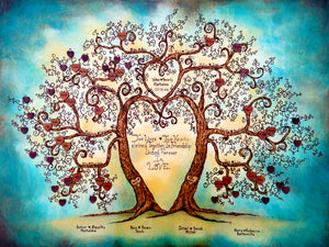 Unity Family Tree- Made to Order