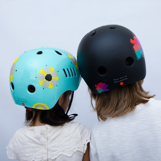 Manu and Lalo Designer Sports Helmets