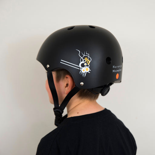 Black Matte - Kids Helmet