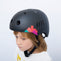 Kids bike helmet with punk design