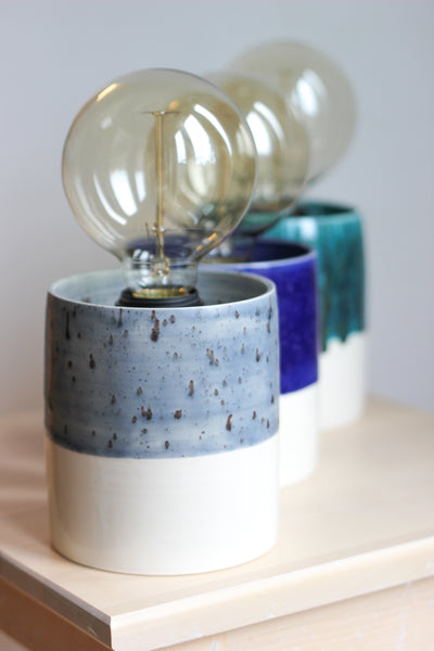 Stylish Hand-Thrown Lamps