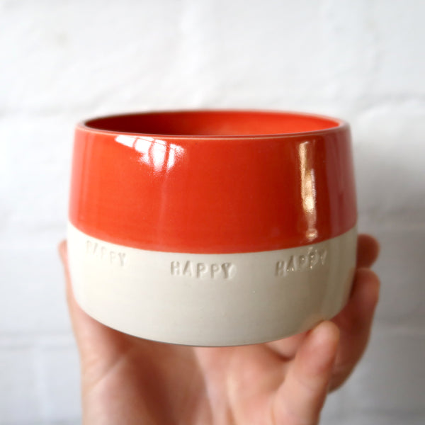 Happy Happy Happy pot (Large)