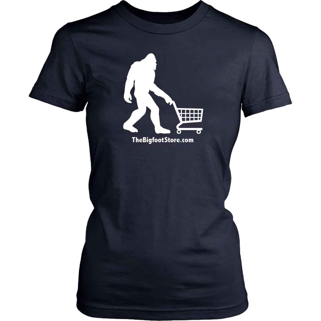 Bigfoot Shopping Women's Shirt