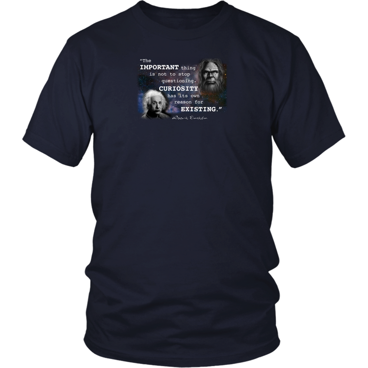 Einstein Questioning Shirt
