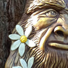 "Bigfoot ""Flower Beard"" Sculpture"