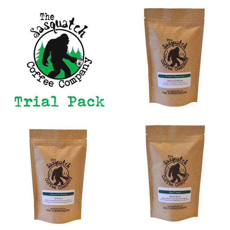 Sasquatch Coffee Taster Pack