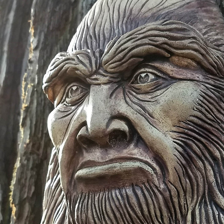 Bigfoot Wall Sculpture