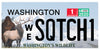 Washington Sasquatch Plate