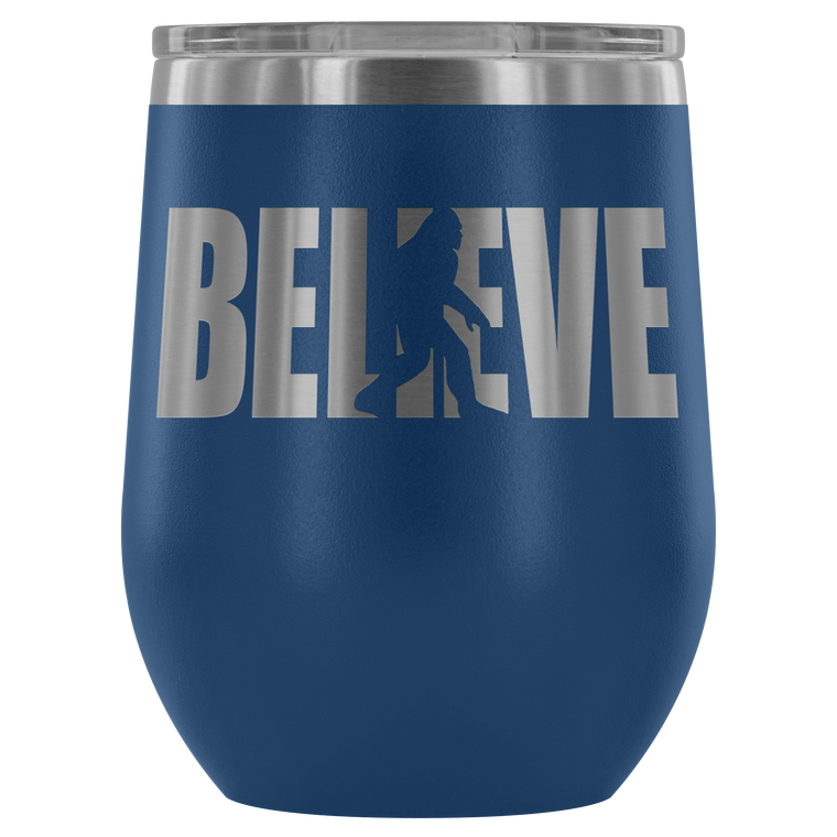 Believe Wine Tumbler